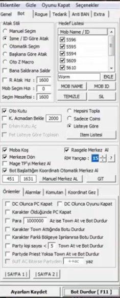 knight online koxp 2021 bot