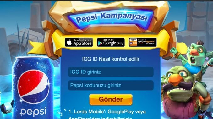 lords mobile promosyon kodu