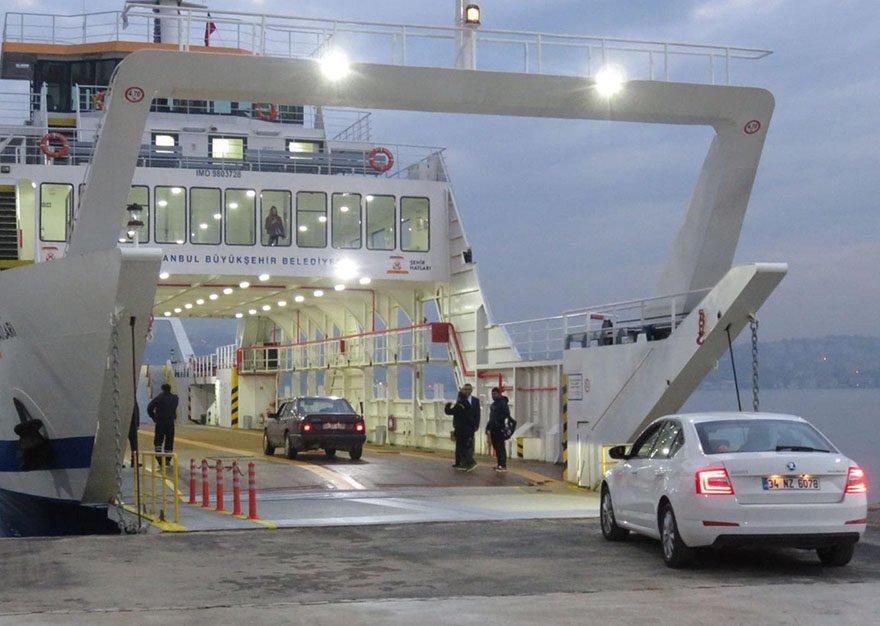 eskihisar topçular feribot ücreti 2021