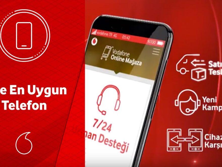 vodafone telefon kampanyaları 2021